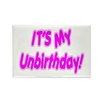 It's My Unbirthday! Rectangle Magnet (100 pack)