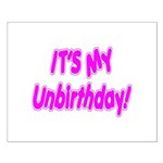 It's My Unbirthday! Small Poster