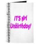 It's My Unbirthday! Journal