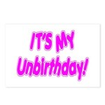 It's My Unbirthday! Postcards (Package of 8)