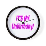 It's My Unbirthday! Wall Clock