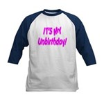 It's My Unbirthday! Kids Baseball Jersey