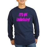 It's My Unbirthday! Long Sleeve Dark T-Shirt