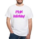 It's My Unbirthday! Premium White T-Shirt