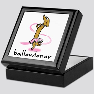 Ballet Wiener Keepsake Box