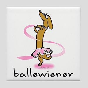 Ballet Wiener Tile Coaster