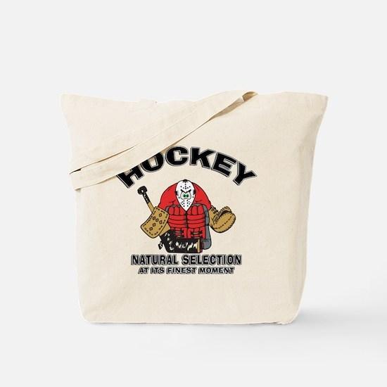 Hockey Goalie Tote Bag