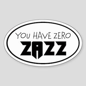 ZAZZ 1.0 Oval Sticker