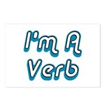 I'm A Verb Postcards (Package of 8)