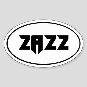 ZAZZ 2.0 Oval Sticker