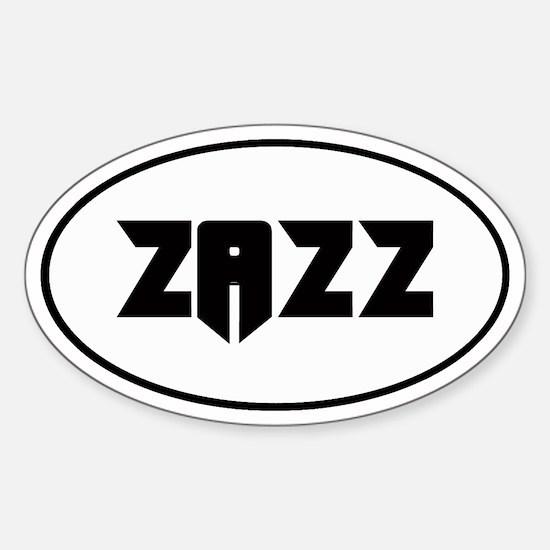 ZAZZ 2.0 Oval Decal