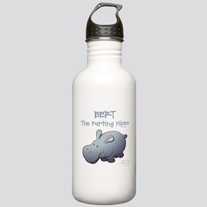 BERT THE FARTING HIPPO Water Bottle