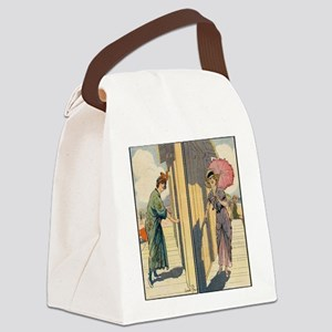 Before & After Canvas Lunch Bag