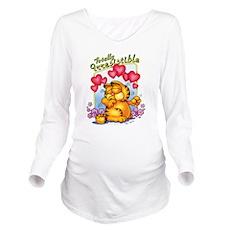 Totally Irresistible! Long Sleeve Maternity T-Shir