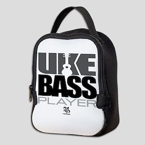 Uke Bass Player Neoprene Lunch Bag