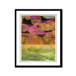 Peace in the Storm Framed Panel Print