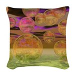 Peace in the Storm Woven Throw Pillow