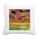 Peace in the Storm Square Canvas Pillow