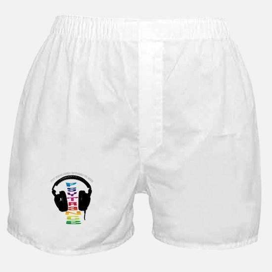 psytrance headphones Boxer Shorts