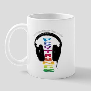 psytrance headphones Mug