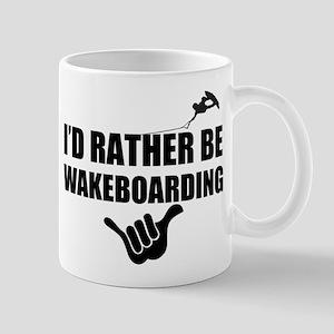 Rather Be Wakeboarding Mug