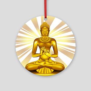 Buddha Siddhartha Gautama Golden Statue Ornament (