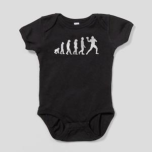 Football Quarterback Evolution Baby Bodysuit