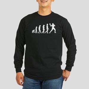 Football Quarterback Evolution Long Sleeve T-Shirt
