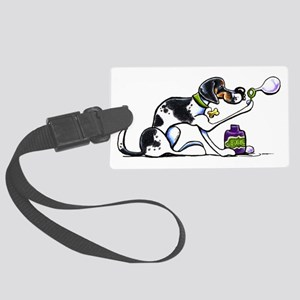 Foxhound Bubbles Large Luggage Tag