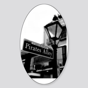 Pirates Alley  Sticker (Oval)