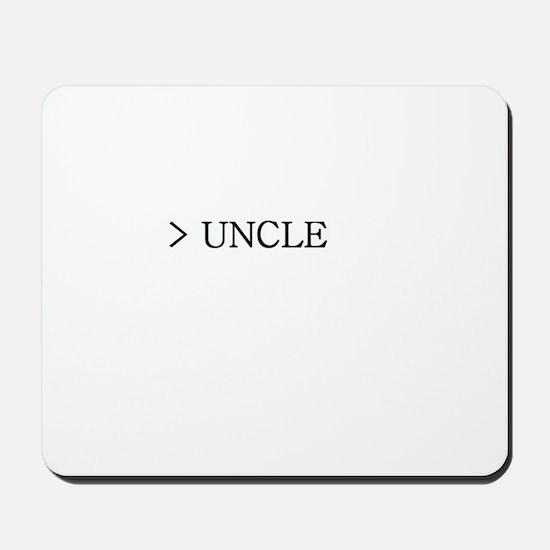 Great Uncle Mousepad