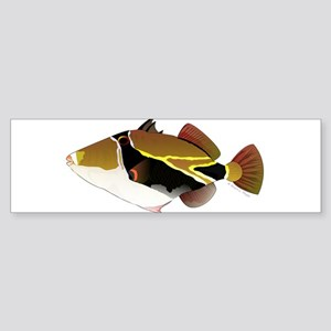 Reef Triggerfish Humuhumu Bumper Sticker