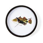 Reef Triggerfish Humuhumu Wall Clock