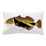Reef Triggerfish Humuhumu Pillow Case