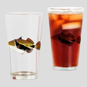 Reef Triggerfish Humuhumu c Drinking Glass