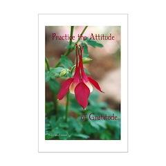 Attitude Of Gratitude Posters