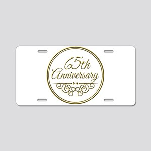 65th Anniversary Aluminum License Plate