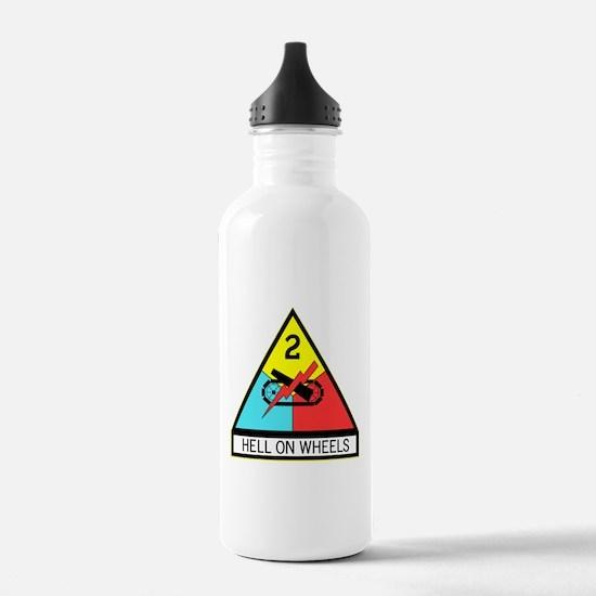 Army Hell On Wheels Water Bottle