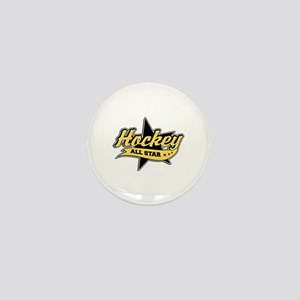 Hockey All Star Mini Button