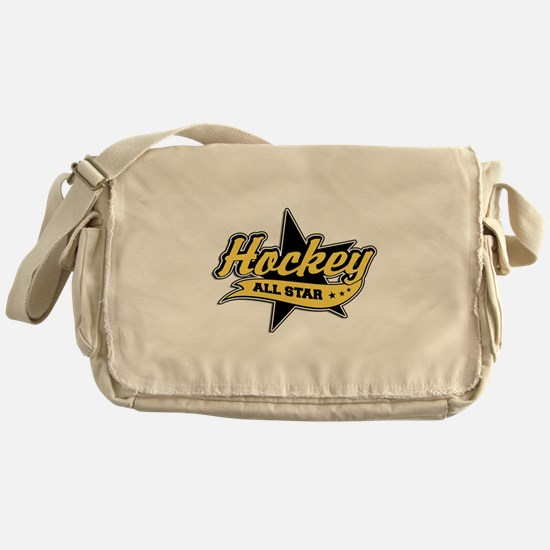 Hockey All Star Messenger Bag