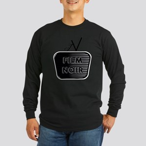 Film Noir Long Sleeve Dark T-Shirt