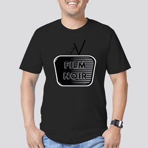 Film Noir Men's Fitted T-Shirt (dark)