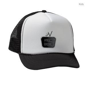 063332069f2 Film Noir Kids Trucker Hats - CafePress