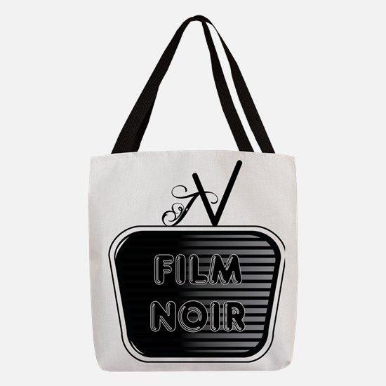 Film Noir Polyester Tote Bag