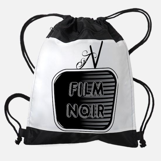 Film Noir Drawstring Bag