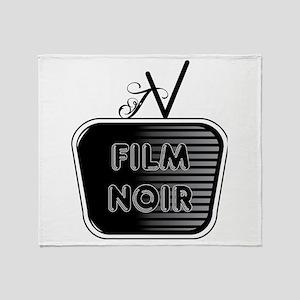 Film Noir Throw Blanket