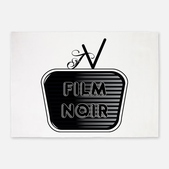 Film Noir 5'x7'Area Rug