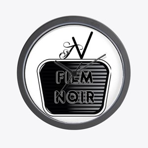 Film Noir Wall Clock