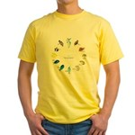 Pacific and Indian Ocean Reef Fish Clock 2 T-Shirt