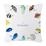 Pacific and Indian Ocean Reef Fish Clock 2 Woven T